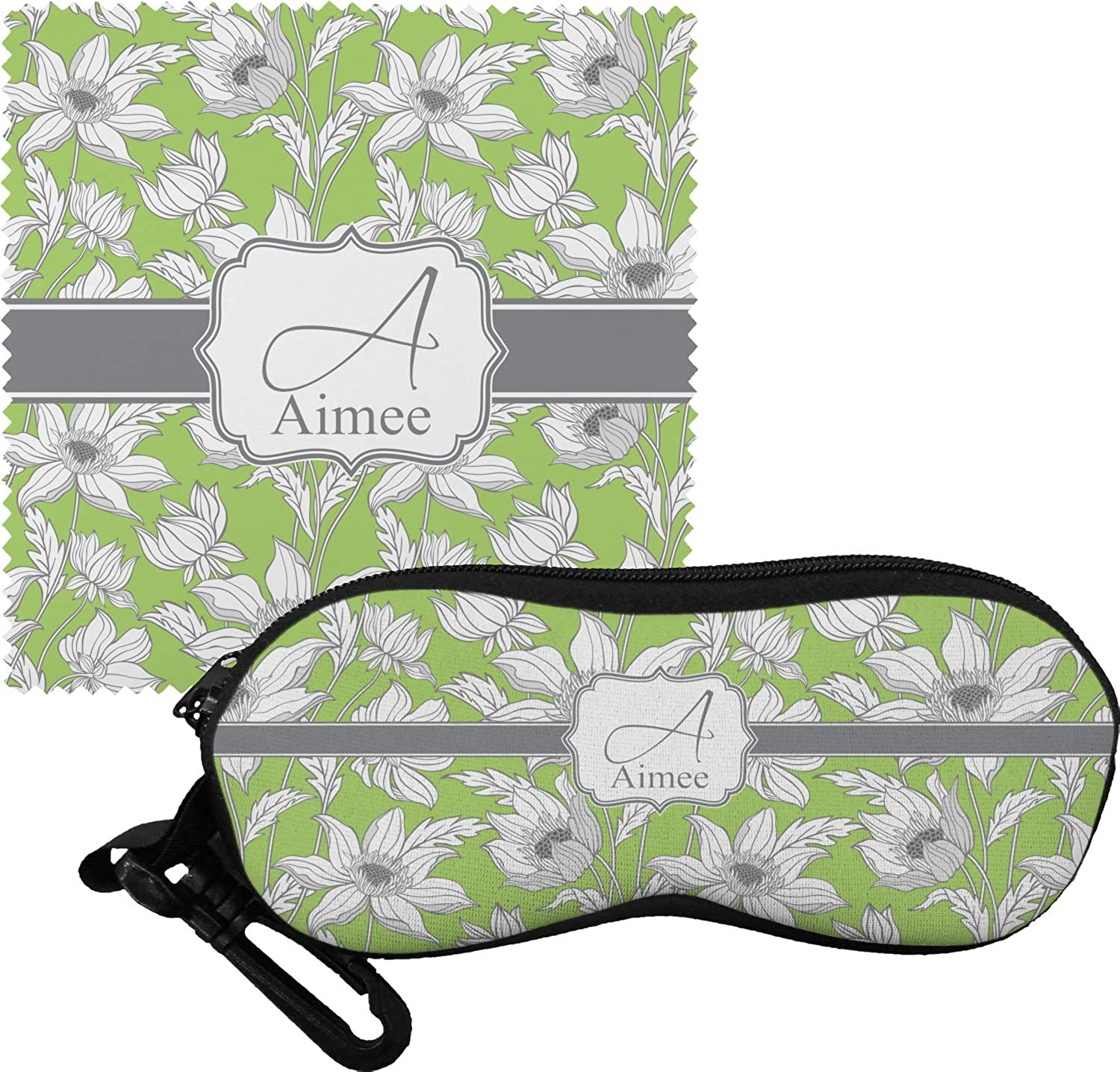 Wild Daisies Eyeglass Case /& Cloth Personalized