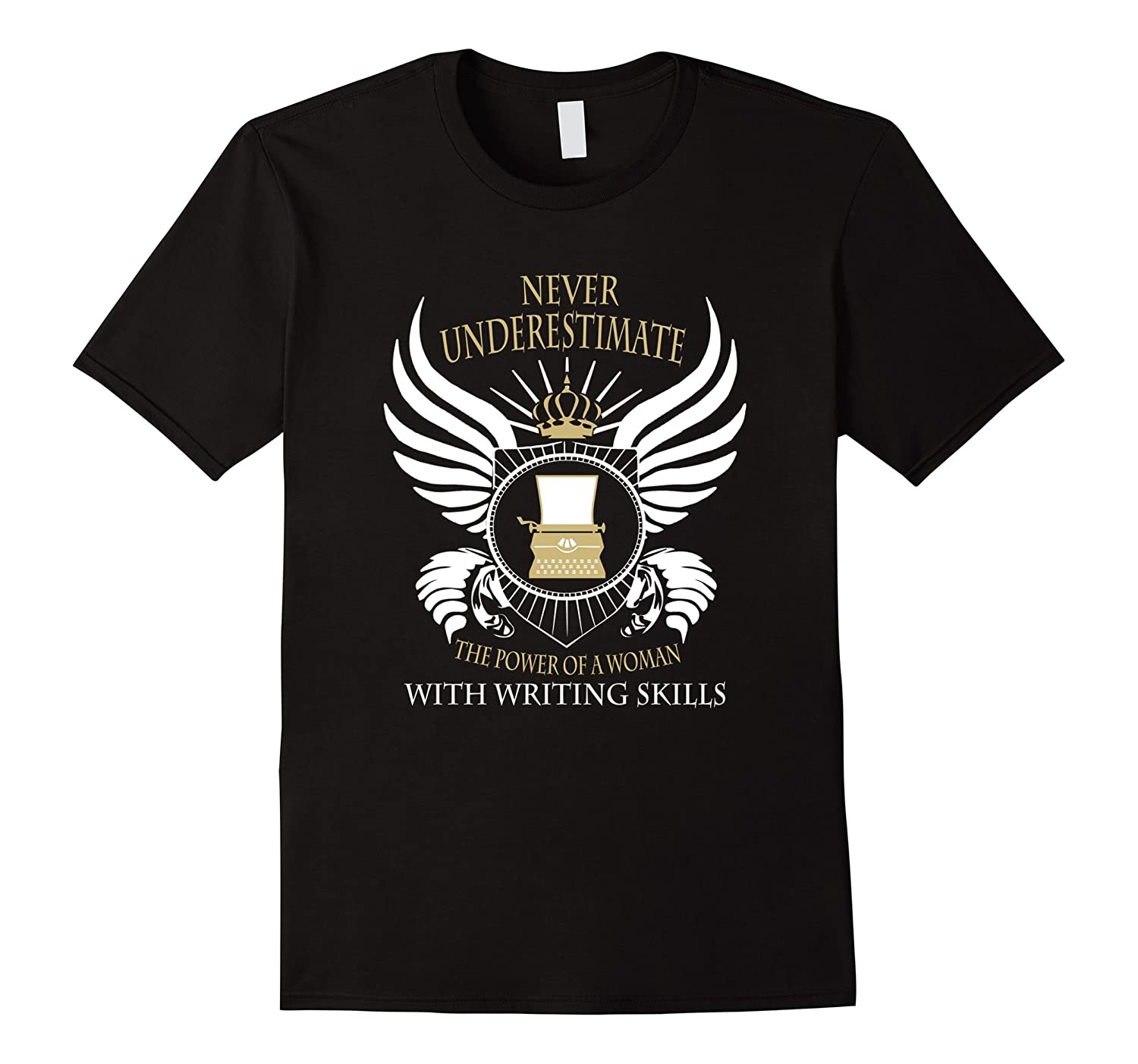Writer Author Funny T-Shirt-BN