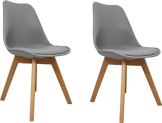 La Silla Española - modelo Salou - pack de dos sillas de estilo ...