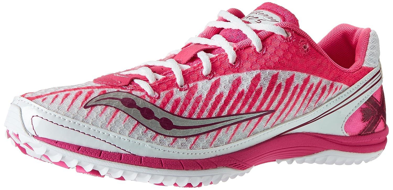 Amazon.com | Saucony Women's Kilkenny XC5 Flat Cross Country Flat Shoe,  White/Vizi Pink, 9.5 M US | Track & Field & Cross Country