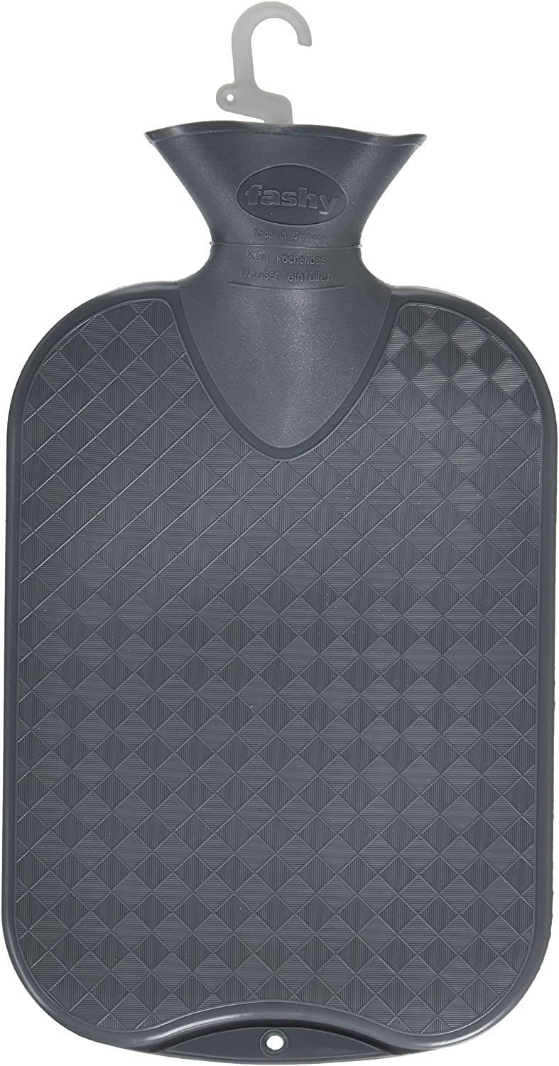 Fashy Hot Water Bottle Plain (Anthracite)