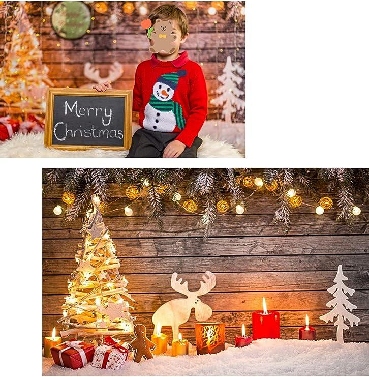 Waw 7x5ft Weihnachts Hintergründe Studio Fotografie Kamera