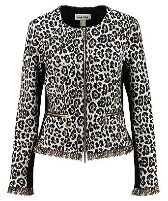 bc1070790b68 Amazon.com: Joseph Ribkoff Print Jacket with Zipper: Clothing