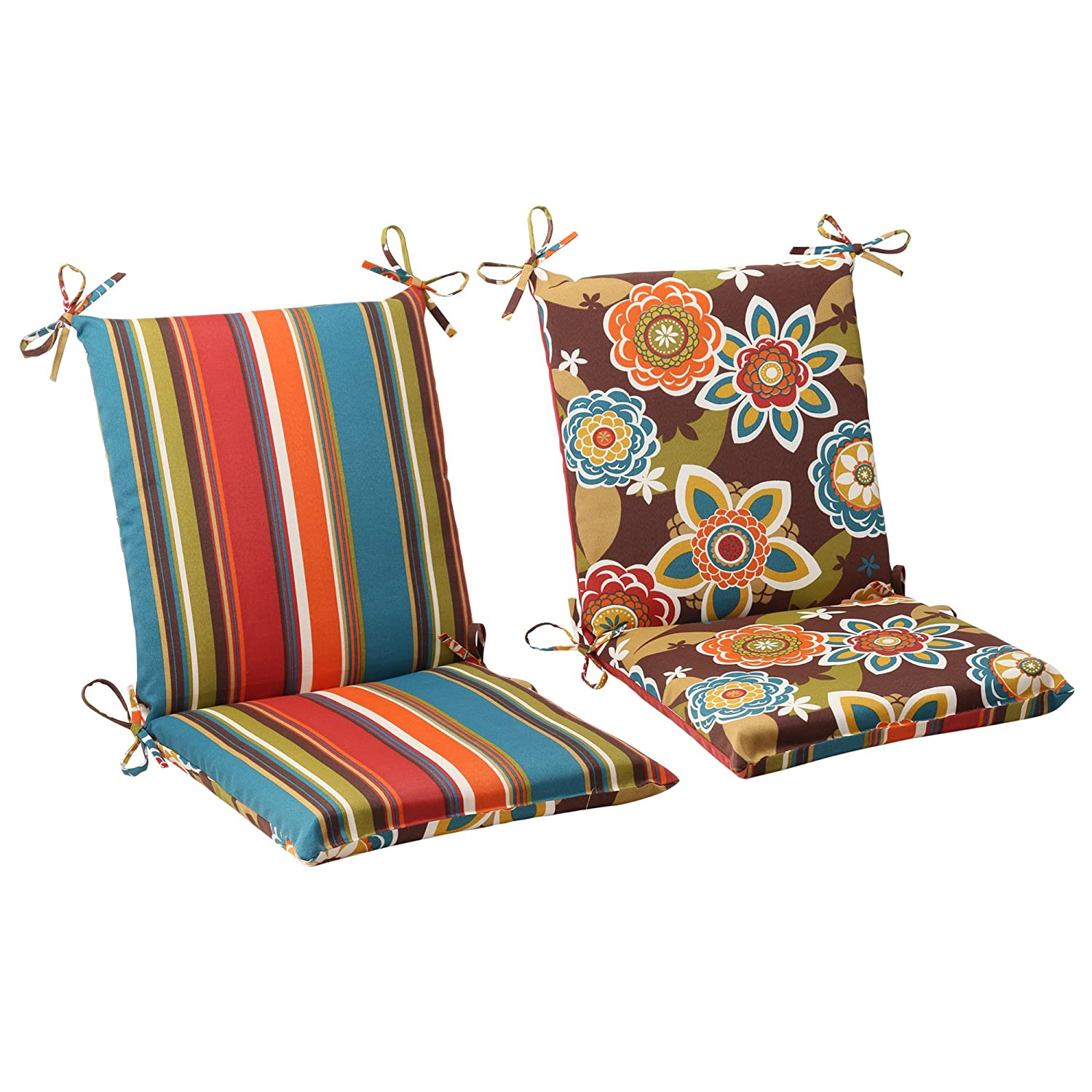 Fabric patio seat covers