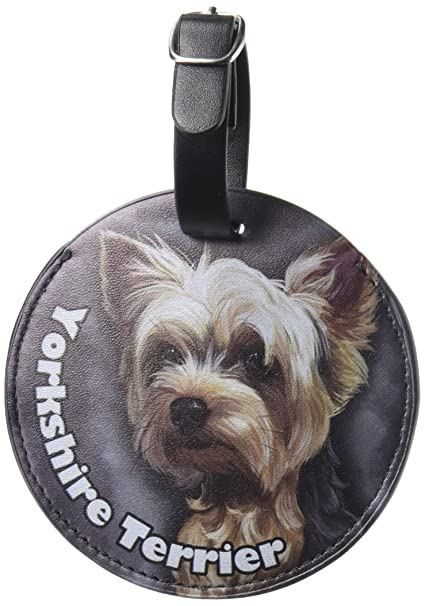Amazoncom Graphics More Yorkshire Terrier Yorkie Dog Pet Round