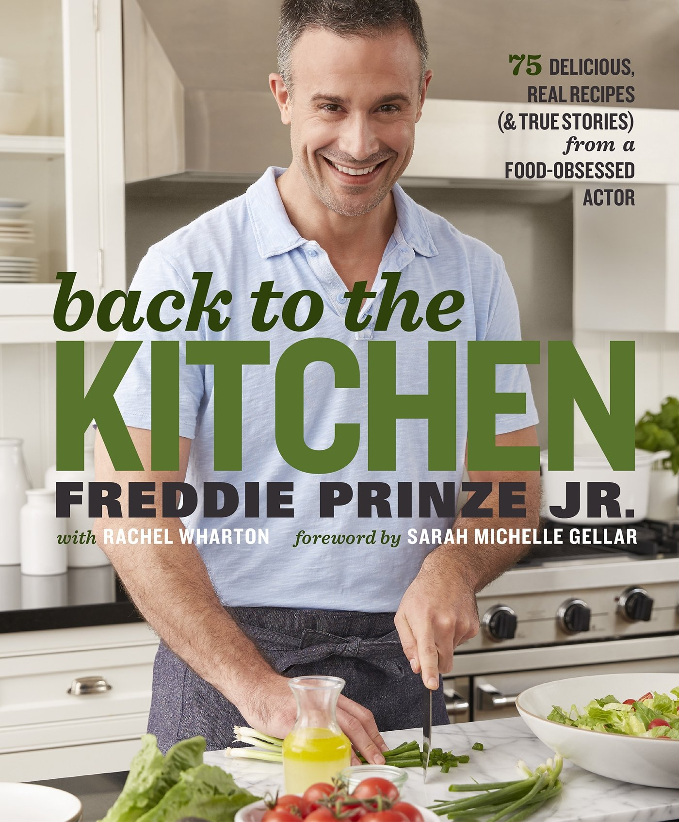 Image result for freddie prinze jr. cookbook