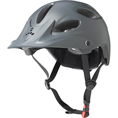Triple Eight Compass Certified Bike Helmet for Cycling and Mountain Biking, Gun Matte : Sports & Outdoors