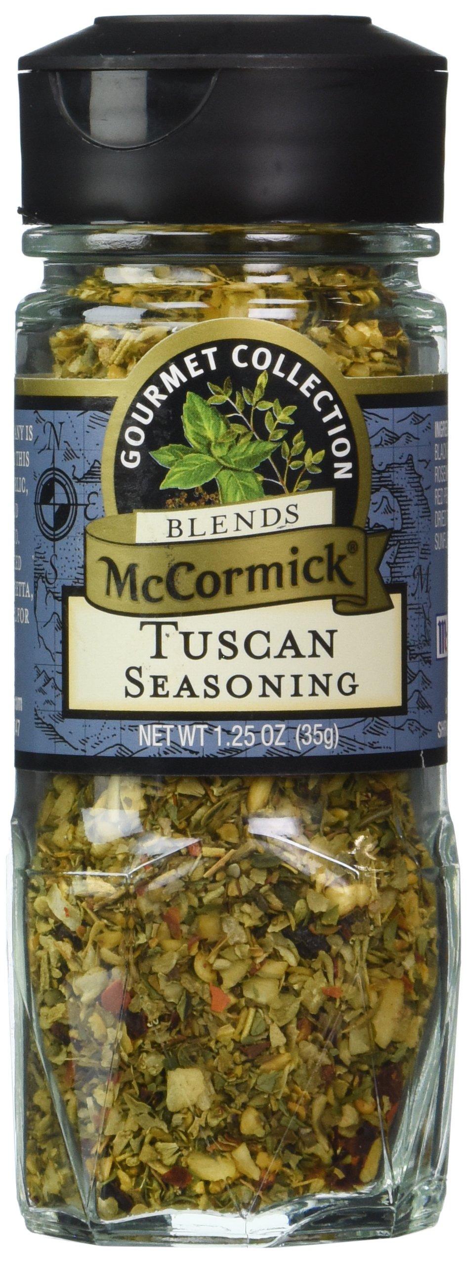 McCormick Gourmet Collection TUSCAN SEASONING 1.25oz (3 Pack)