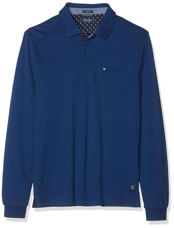 Pierre Cardin Longsleeve Polo Interlock Camiseta Cuello Alto para ...