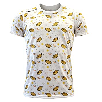 Luanvi Edición Limitada Camiseta técnica Paella, Hombre, Blanco, M (50-68cm