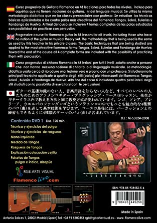 Guitarra Flamenca en 48 clases - 1 Clases 1-12 / Flamenco Guitar ...