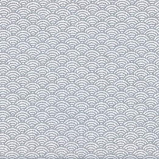 Textiles français Tela de algodón Estampada - Escamas Japonesas ...
