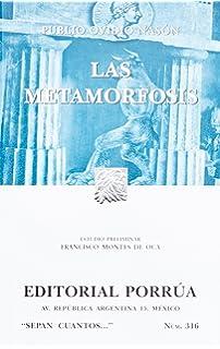 Las metamorfosis (SC316) (Spanish Edition)