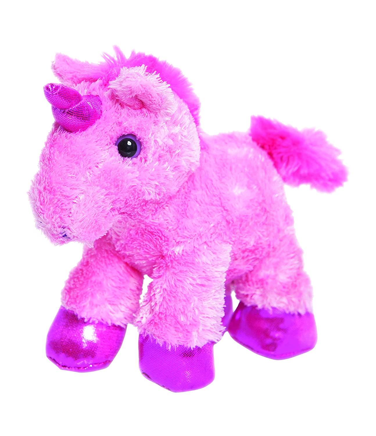 Aurora World 8 Inch Mini Flopsies Unicorn Toy (Pink) Amazoncouk Toys