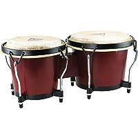 Tycoon Percussion 6 Inch & 7 Inch Ritmo Bongos - Mahogany Finish