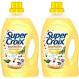 Super Croix 2-en-1 Seychelles Lessive Liquide New Avril 2017 1,875 L - Lot de 2