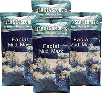 4-Pack Deadseasecrets Organic Spa Quality Premier Dead Sea Mud Mask