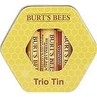 Set de regalo hidratante de tres latas Burt's Bees con 1 bálsamo labial con cera de abejas 100% natural con vitamina E y…