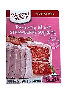 Duncan Hines Signature Moist Cake Mix - Strawberry Supreme - 16.5 oz - 2 Pack