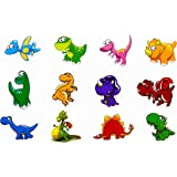 Oblique-Unique® Dino Kinder Tattoo Set 24 Stück Kindertattoos Tattoo verschiedene Motive Kinder Spielen