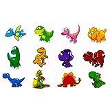 Oblique-Unique® Dino Kinder Tattoo Set 24 Stück Kindertattoos Tattoo verschiedene Motive Kinder Spielen