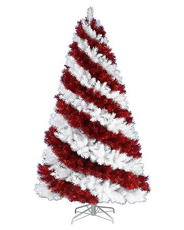 Candy Cane Christmas Tree.Amazon Com Treetopia Candy Cane Christmas Tree 5 Feet