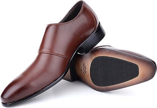 Amazon.com: Zapatos de vestir para hombre Oxford de piel ...