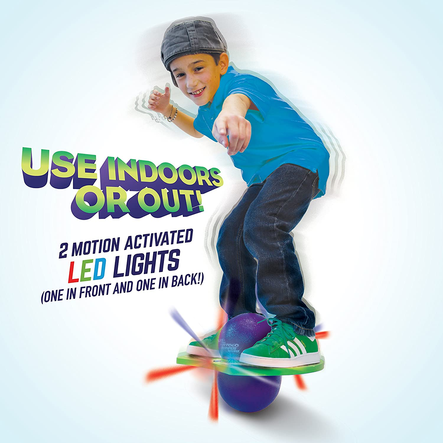 Geospace The Original LED AIR POGO Jumper Deluxe by Air Kicks