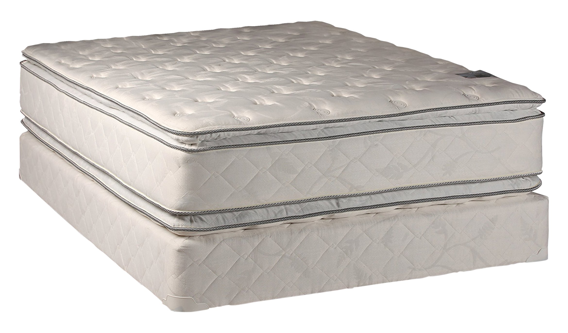 Dream Solutions Brand Fully Assembled Double Sided Pillow Top, Full size set