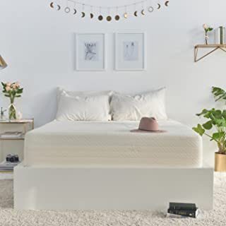 """product image for Brentwood 10"""" Gel Infused HD Memory Foam Mattress - 100% Made in USA - CertiPur Foam - 25-Year Warranty, Triple Layer, Natural Bamboo Cover, Olympic Queen Size 66 x 80 x 10"""