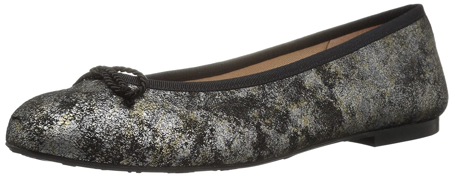 French Sole FS/NY Women's Pearl Ballet Flat B071Z3J7Y1 9 B(M) US|Grey