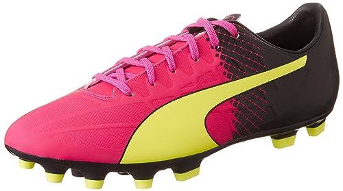 Puma 103600 Scarpe da Calcio Uomo Rosa Pink Pink GLO Safety