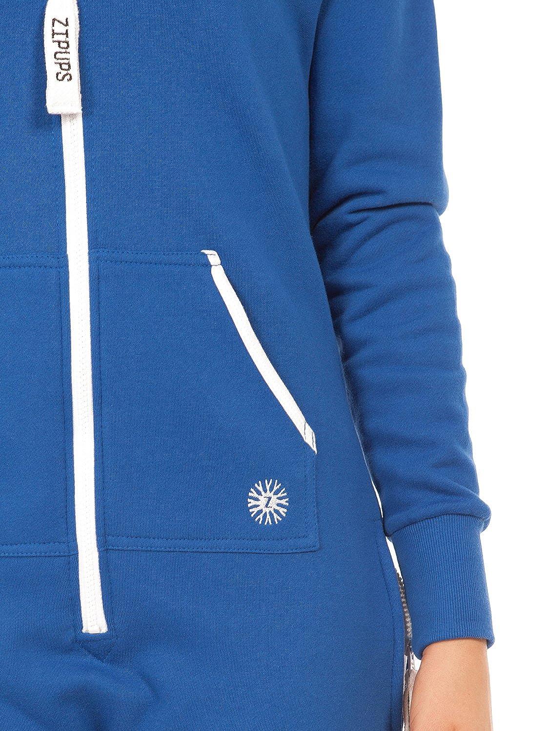 Zipups Mono-Pijama Clean Cut Azul 6-7 años (116/122 cm): Amazon.es: Ropa y accesorios