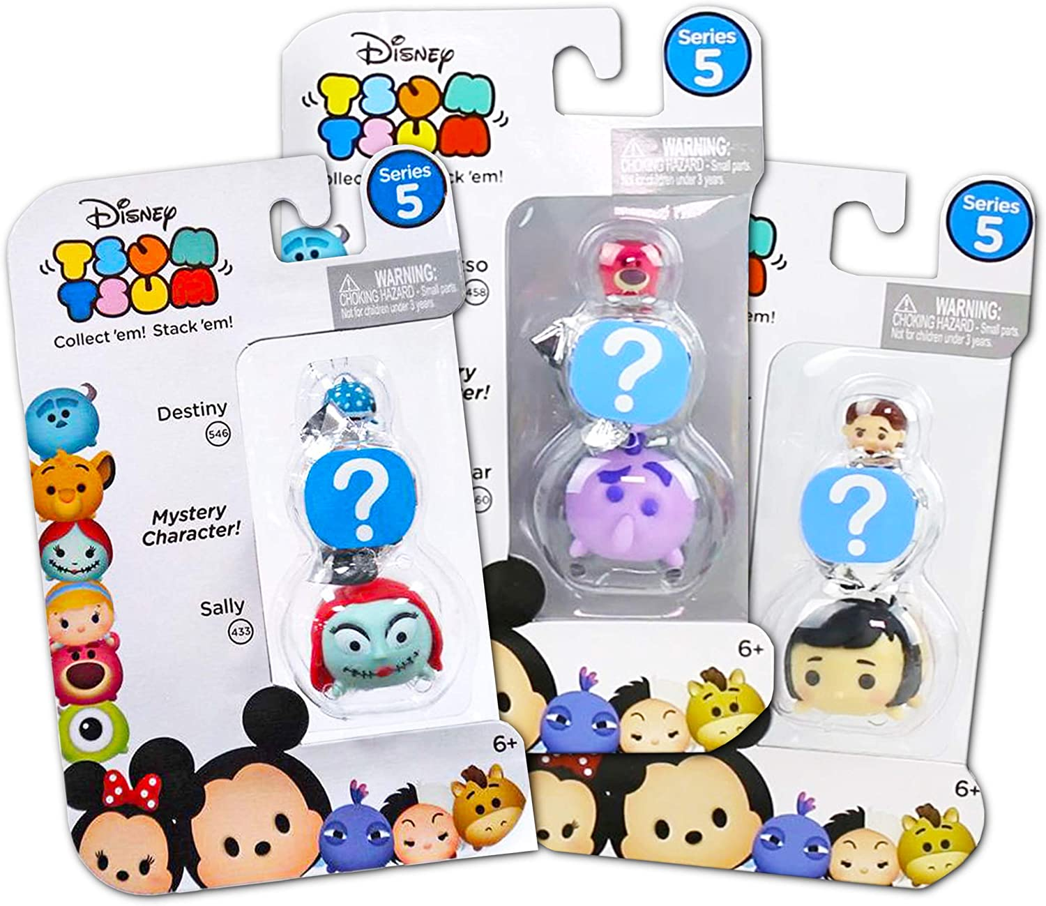 Tsum tsum Mystery Pack Series 5 Disney Unique 6 Blind Bags