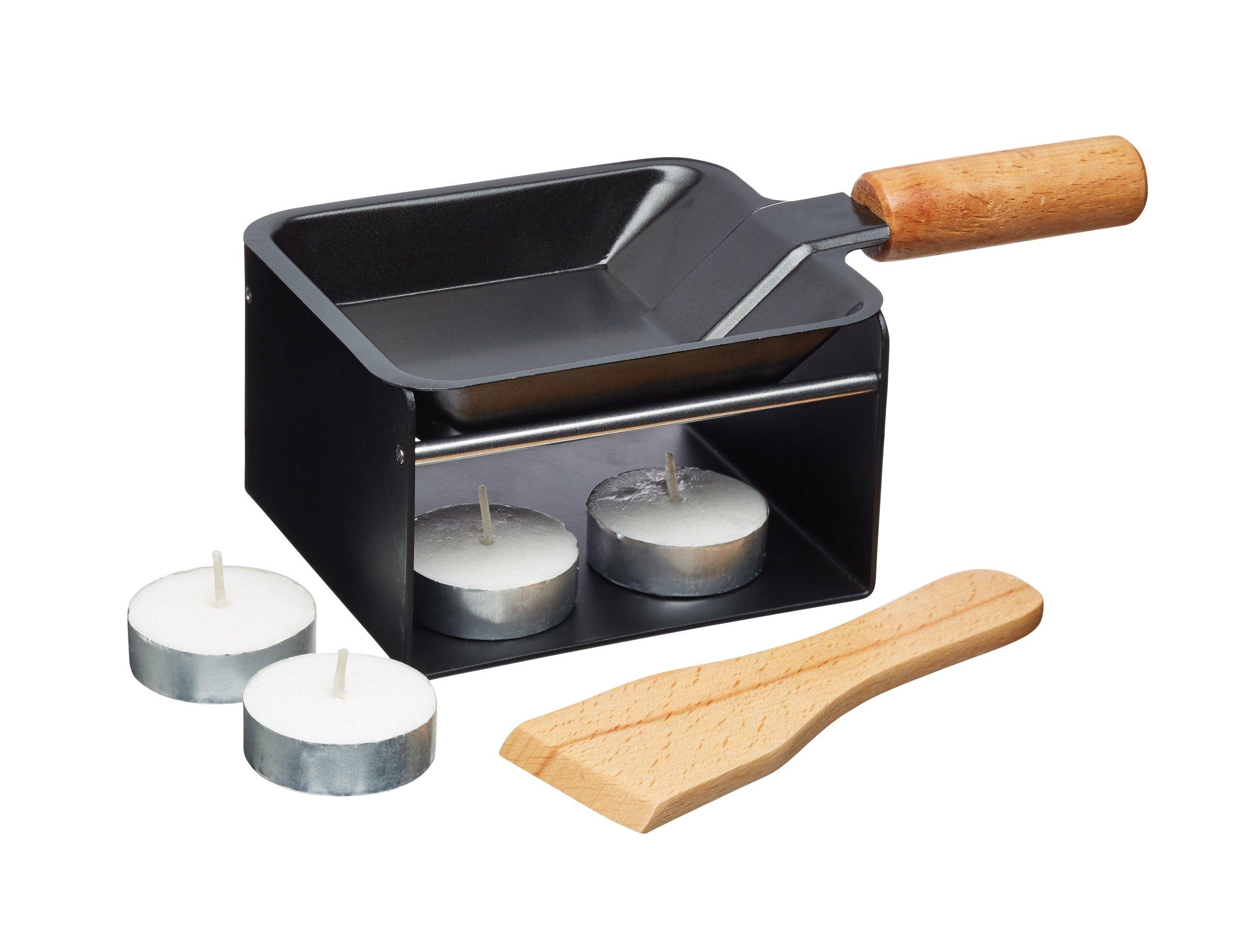 Artesà Mini Raclette Grill Set, Metal, 5 Pieces