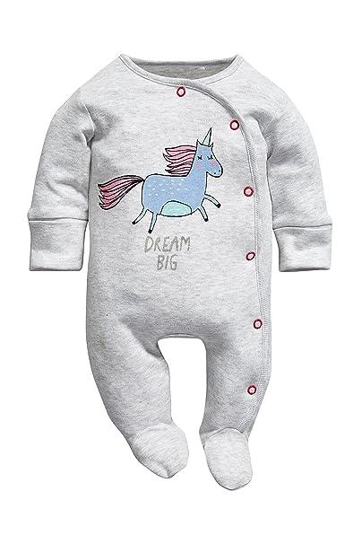 next Bebé Niña Pack De Tres Pijamas Estampado Unicornios (0 Meses-2 Años)