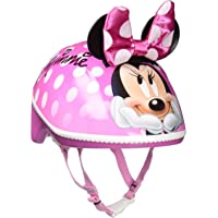 Bell Toddler Girls 3D Minnie Me Toddler Bike Helmet
