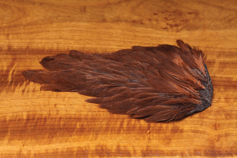 Hareline Dubbin India Hen Back Fly Tying Feather