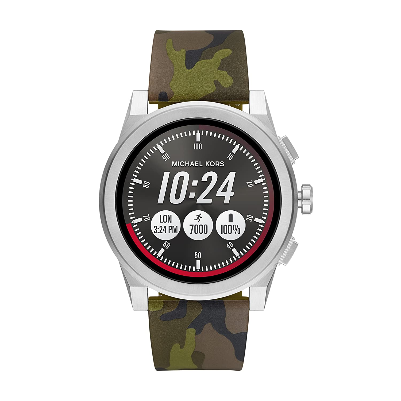 Michael Kors Access Smartwatch Grayson Silicone Strap