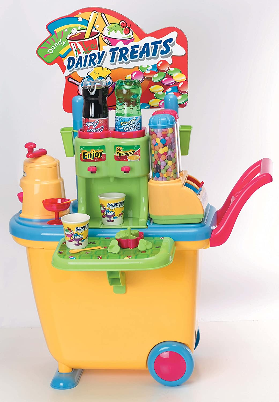 PlayGo 3300 - Mein Saft Saft Saft und Süsswarenwagen, Küchenspielzeug 861413
