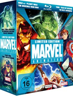 planet hulk marvel animated features - combo pack blu-ray + dvd ...