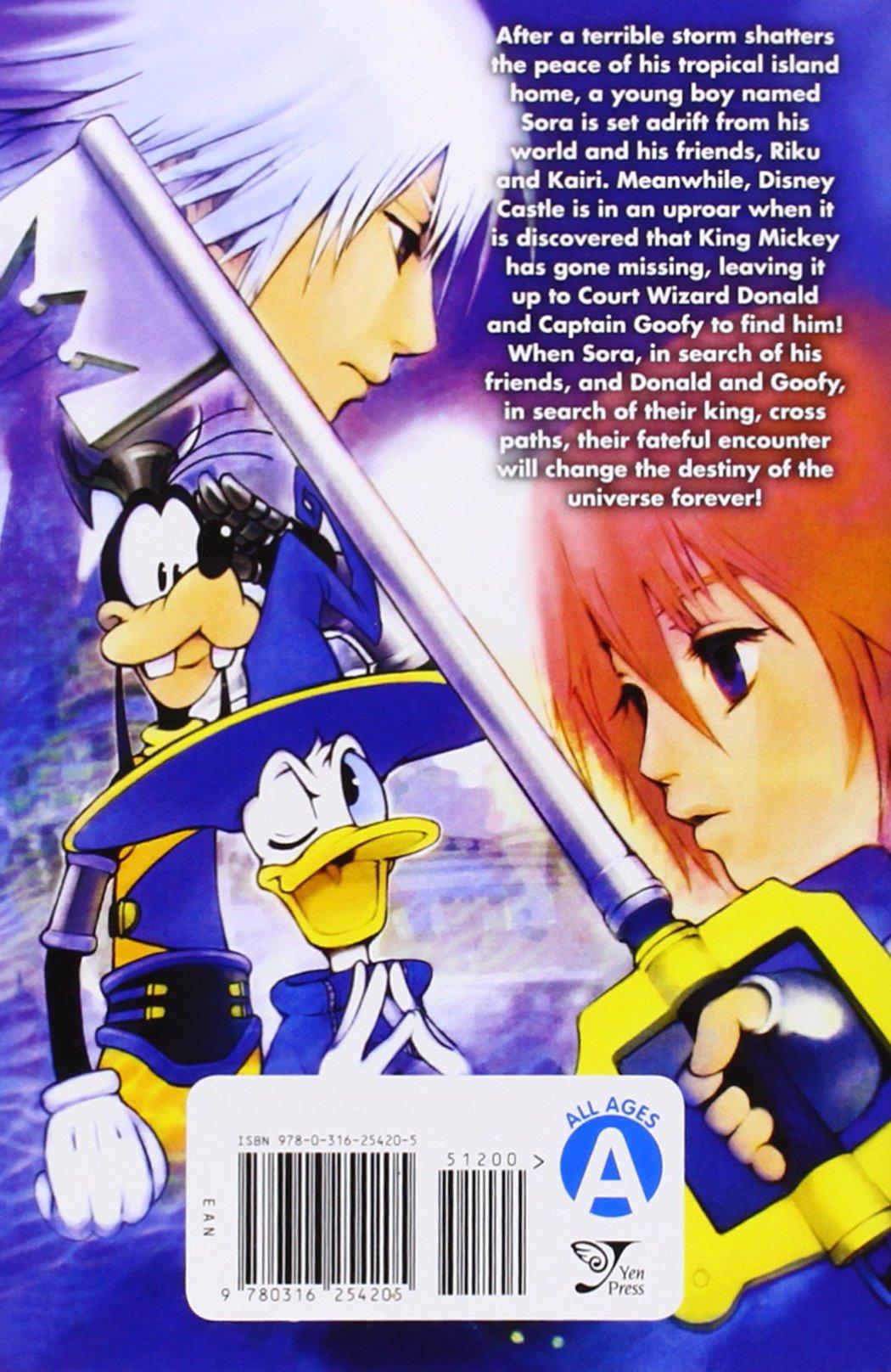 Kingdom Hearts: Final Mix, Vol  1 - manga: Shiro Amano