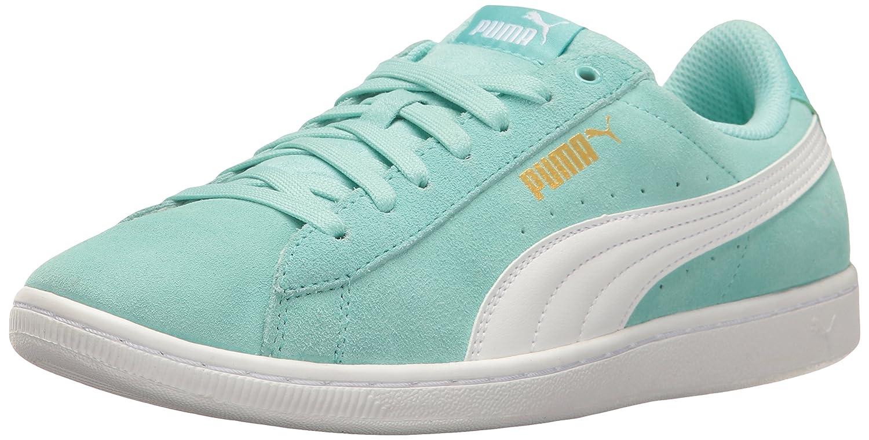 PUMA Women's Vikky Sneaker B01LPWLRYY 6.5 M US|Aruba Blue-puma White