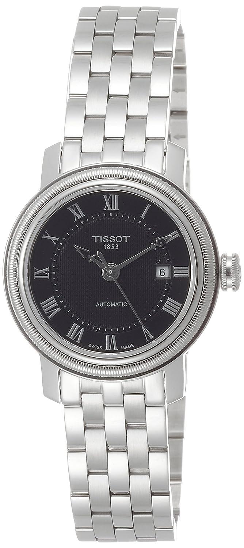[ティソ] TISSOT 腕時計 ブリッジポート オートマティック レディー ブラック文字盤 ブレスレット T0970071105300 レディース 【正規輸入品】 B00SQ1OW68