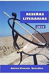 RESENAS LITERARIAS 2019 (Spanish Edition) Kindle Edition