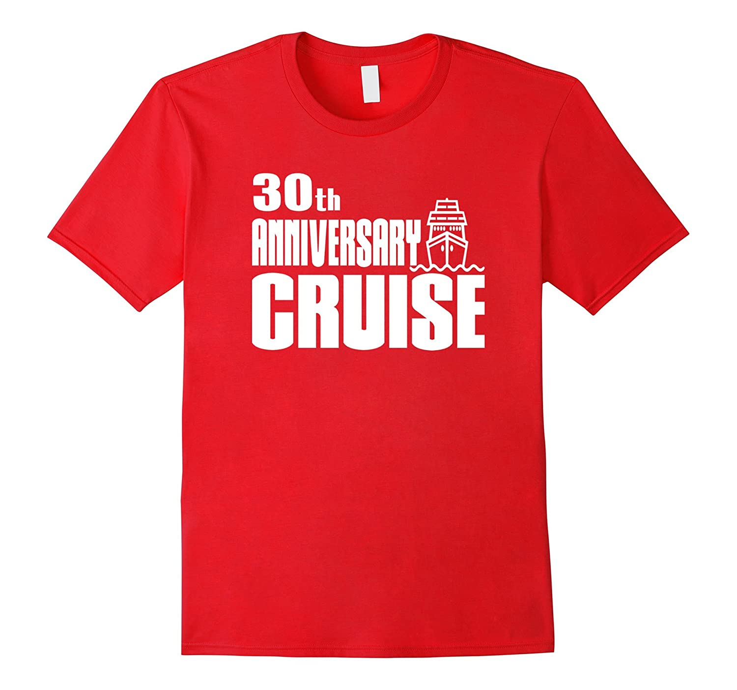 30th Anniversary Cruise Ship Wedding Celebration Party Shirt