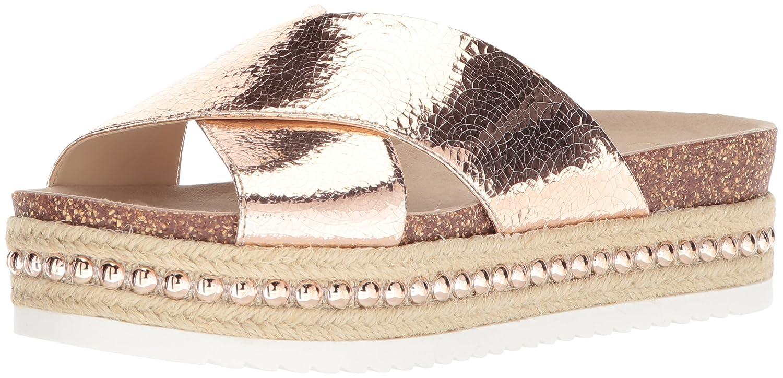 Jessica Simpson Women's Shanny Slide Sandal B078JP3WZ2 7 B(M) US|Pale Rose Gold