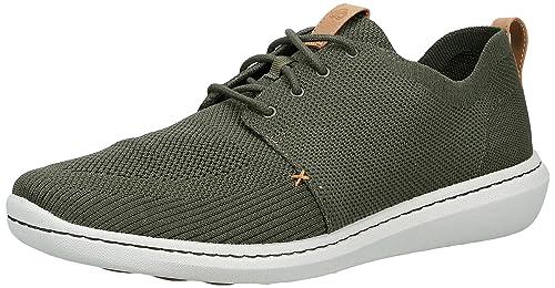 muñeca pedir disculpas Cenagal  Buy Clarks Men's Step Urban Mix Khaki Sneakers at Amazon.in