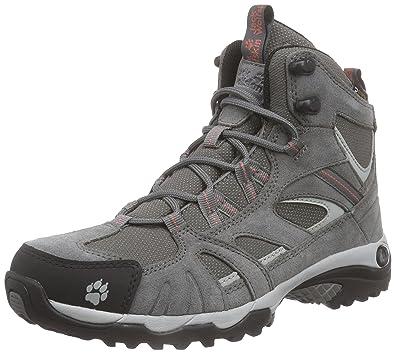 Jack Wolfskin Vojo Hike Mid Texapore Women Wasserdicht, Chaussures de  Randonnée Hautes Femme, Gris 52b43883a352