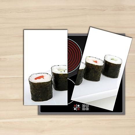 Home Decor - Cubiertas de cerámica de inducción, 2 x 30 x 52 cm,